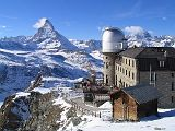 Gornergrat Observatory and Hotel